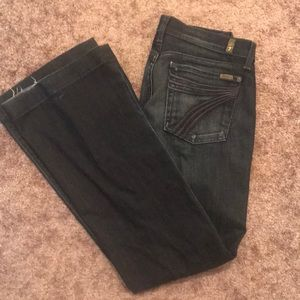 7 for all mankind Dojo dark wash jeans